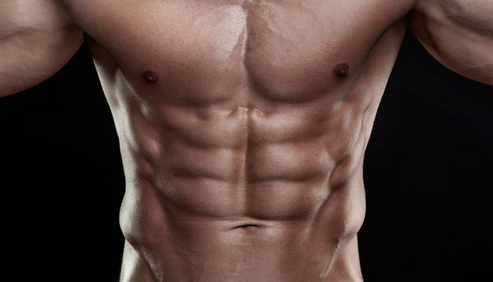 alcanzar un abdomen plano