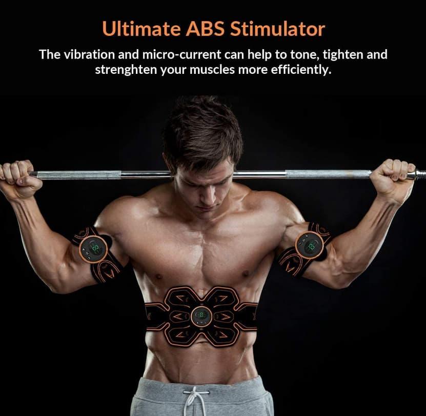 EMS Estimulador Muscular Abdominales Cinturón