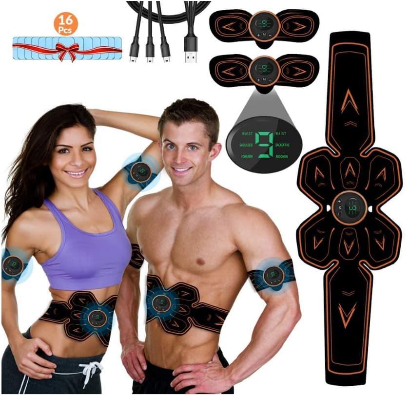 iThrough Electroestimulador Muscular Abdominales